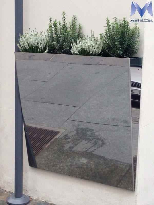 Fioriere in metallo da esterno l 39 arredo urbano a torino for Arredo giardino torino
