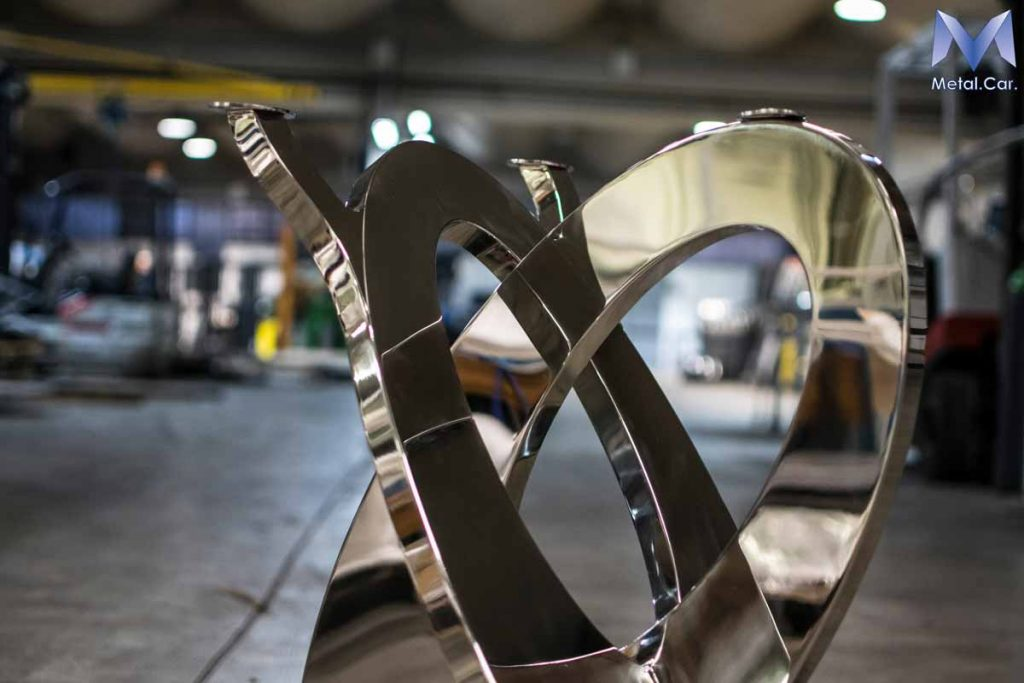 Base per tavoli - Inox Lucidato a Specchio