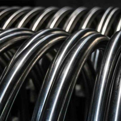 Porta Biciclette Acciaio Inox Torino