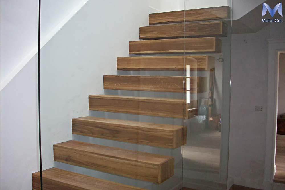 Scale per interni ed esterni su misura a torino metal car - Scale rivestite in legno per interni ...