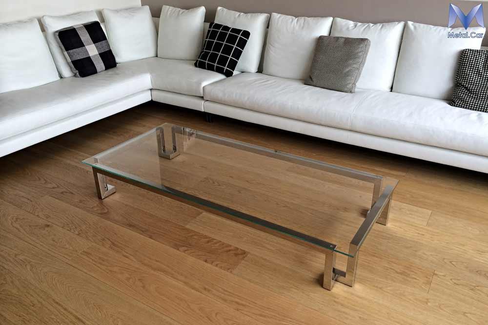 Tavoli di design su misura per contesti abitativi metal for Sala soggiorno