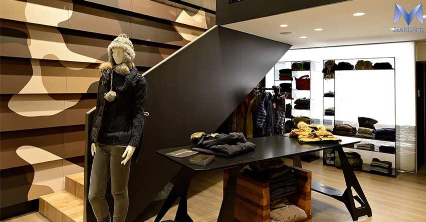 Arredamento di negozi a torino layout espositivi su misura for E commerce arredamento