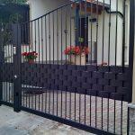 Cancello in metallo verniciato